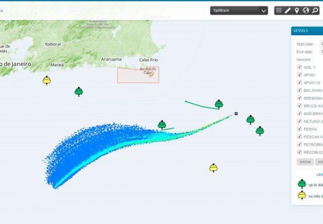 oil spill tracking spilltrack