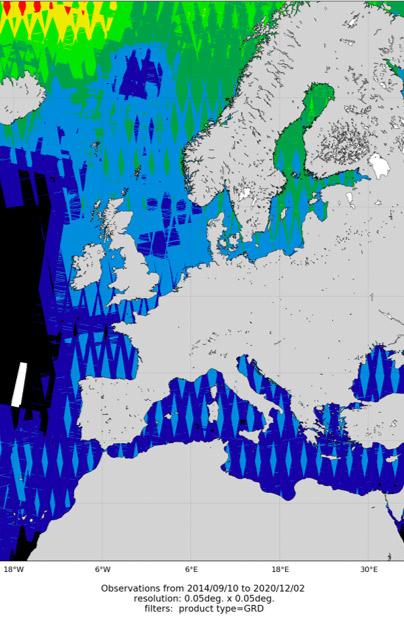 Wind Observation - SAR images